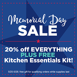 Memorial Day Savings!